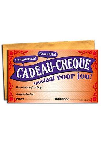Gift Cheque - Neutraal