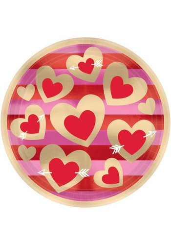 Heart of Gold Bordjes - 8 stuks - 23cm
