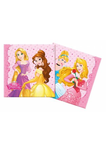Disney Princess Servetten - 33x33cm - 20 stuks