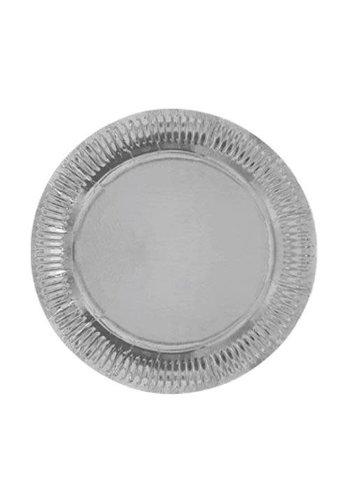 Sparkling Silver bordjes 23cm - 8 stuks