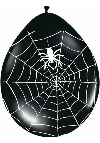 Ballonnen Spider - 8 stuks - 30cm