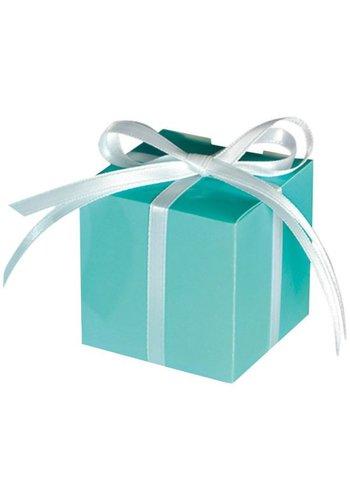 Treat Boxes Colourful Wedding Mint - 100 stuks - 5.7x5.7x5.7cm