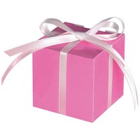 Treat Boxes Colourful Wedding Pink - 100 stuks - 5.7x5.7x5.7cm
