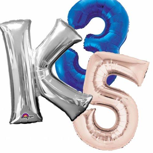 Cijfer & Letter ballonnen