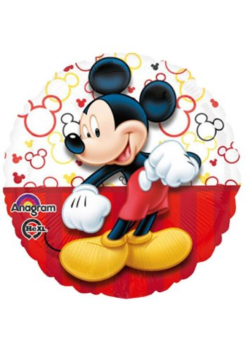 Folieballon Mickey Portrait - 45cm