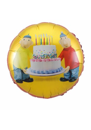 Buurman en Buurman folieballon - 45cm