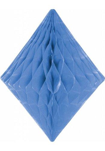 Honeycomb Diamant Licht Blauw - 30cm