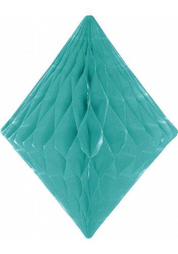 Honeycomb Diamant Mint Groen - 30cm
