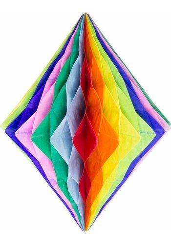 Honeycomb Diamant Multi Color - 30cm