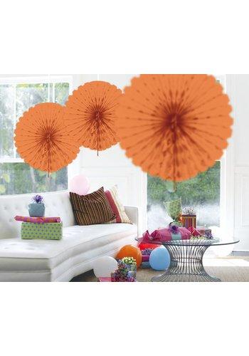 Honeycomb Fan Zalm - 45cm