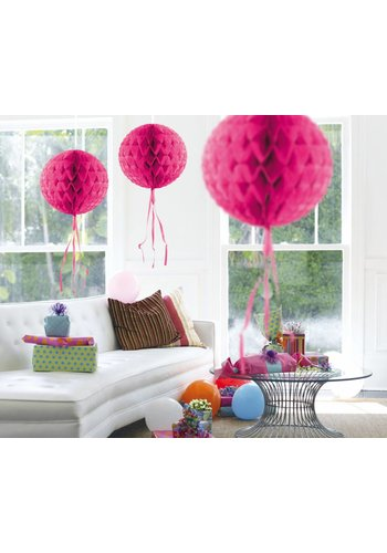 Honeycomb Hot Pink - 30cm