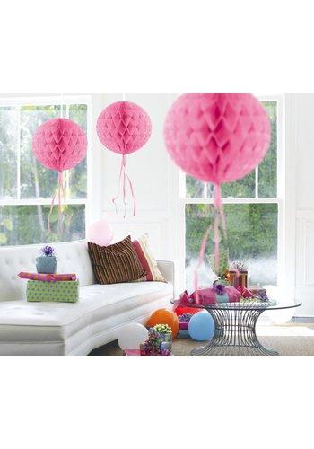 Honeycomb Licht Roze - 30cm