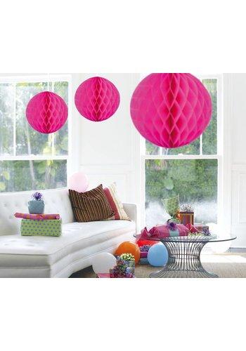 Honeycomb Maxi Hot Pink - 50cm