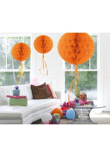 Honeycomb Oranje - 30cm
