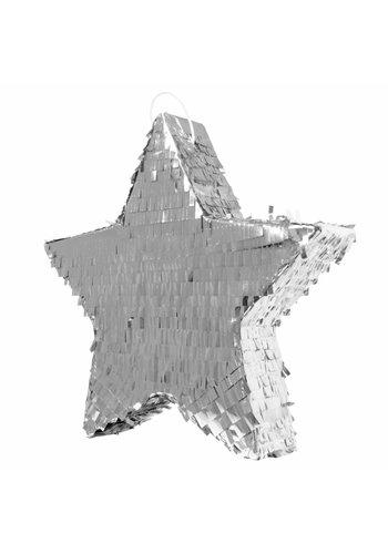 Pinata Ster Zilver - 45cm