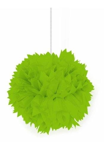 Pompom Lime Groen - 30cm