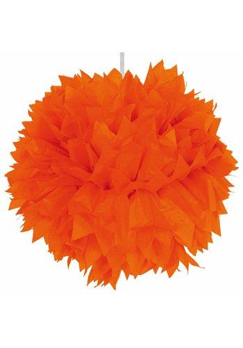 PomPom Oranje - 30cm