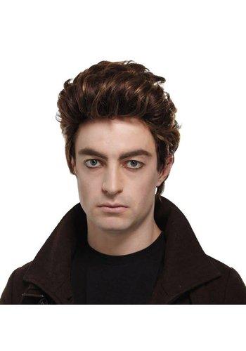 Brown Modern Vampire Wig