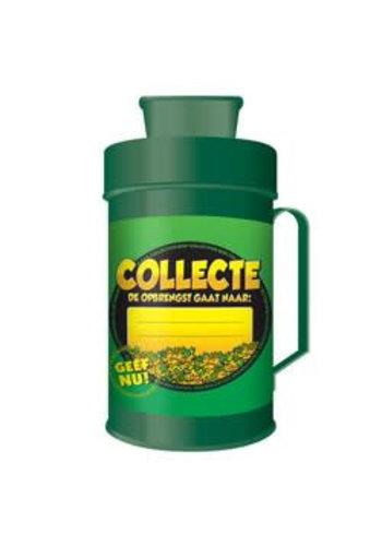 Collectebus - de opbrengst gaat naar: