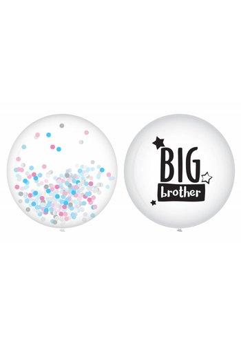 Ballonnen Big brother - 2 stuks - 40cm