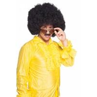 thumb-Afro Pruik - Zwart-2