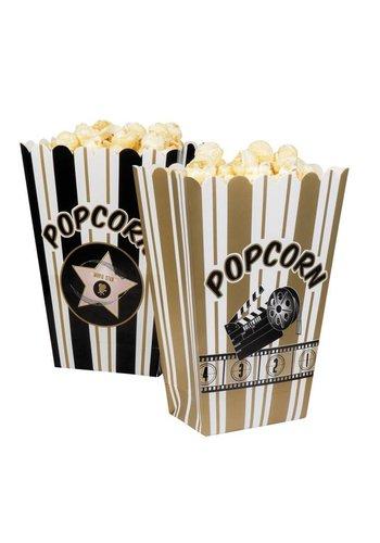 Popcorn Bakjes - 4 stuks