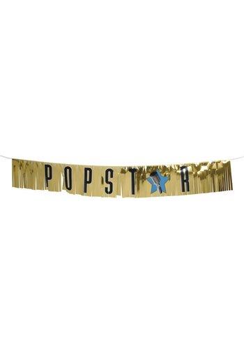 """VIP Banner """"Popstar"""" - 150cm"""