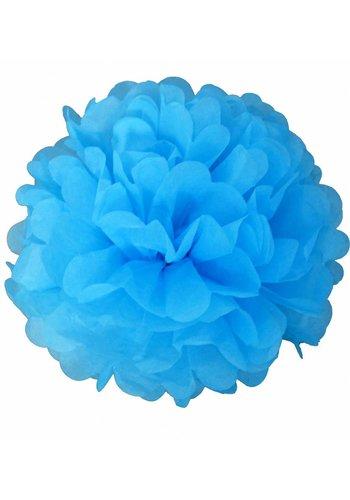 PomPoms Licht Blauw - 1x25cm 1x35cm