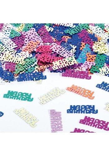 Tafelconfetti Happy Birthday - 14 gram