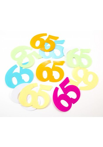 Tafelconfetti XL 65 - 8,5x6,5cm