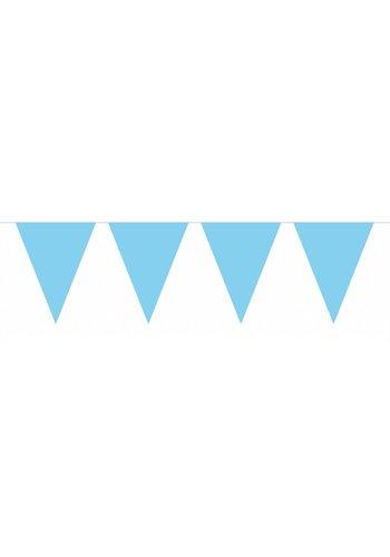 Vlaggenlijn Licht Blauw - 10 meter