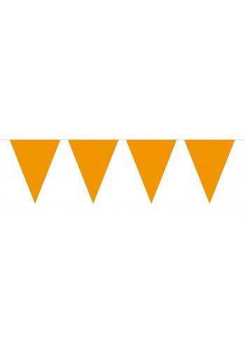 Vlaggenlijn Mini Oranje - 3 meter