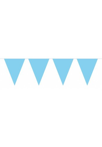 Vlaggenlijn XL Licht Blauw - 10 meter