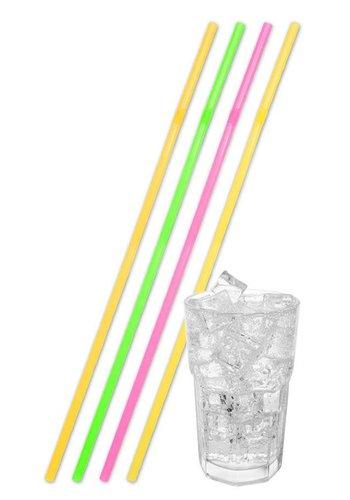 Jumbo Rietjes Neon Multi Color 44cm - 25 stuks