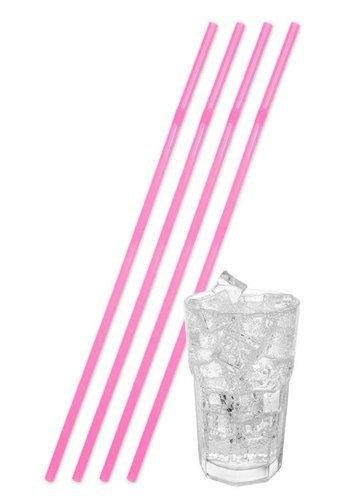 Jumbo Rietjes Neon Pink 44cm - 25 stuks