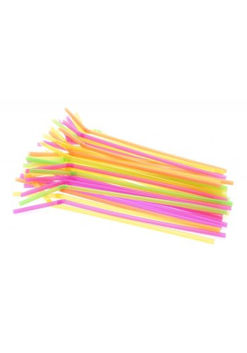 Rietjes Neon - 24cm - 100 stuks