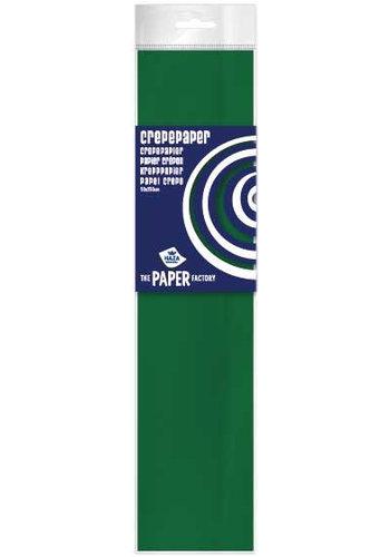 Crepe Papier - Donker Groen - 250x50cm