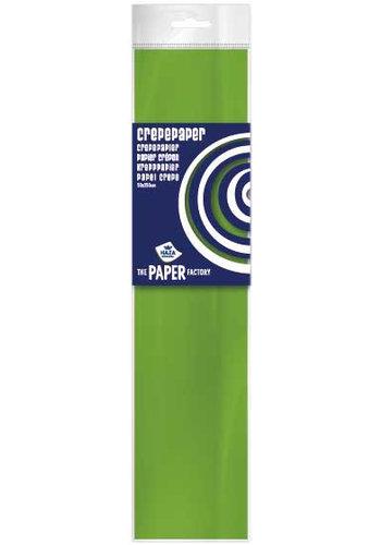 Crepe Papier - Lime Groen - 250x50cm