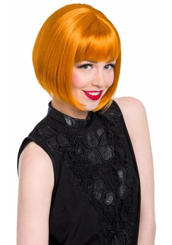 Luxe Pruik - Victoria natural Orange
