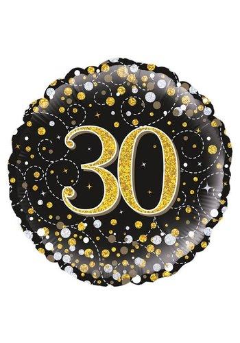 Folieballon - Sparkling 30