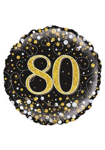 Folieballon - Sparkling 80