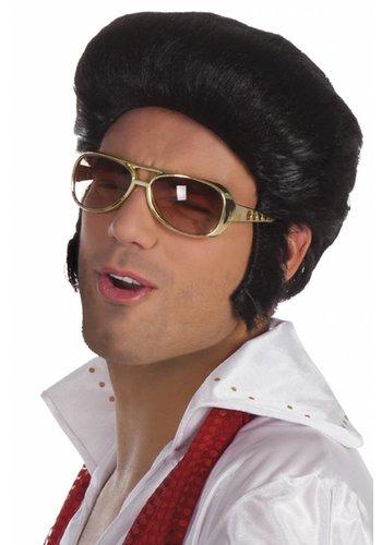Bril Elvis Goud
