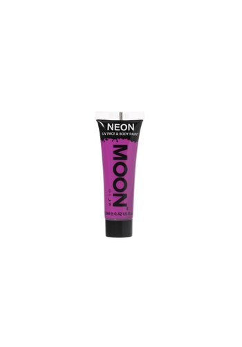 Neon UV Face & Body Gel - Paars - 12ml