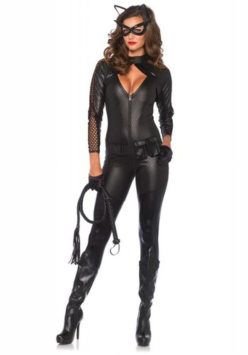 Catsuit - Wicked Kitty Costume Set
