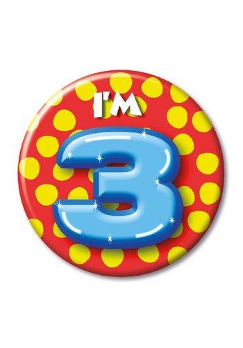 Button - I'm 3