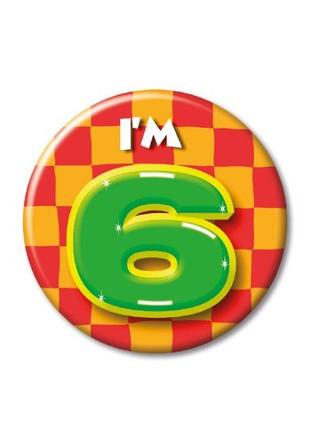 Button - I'm 6