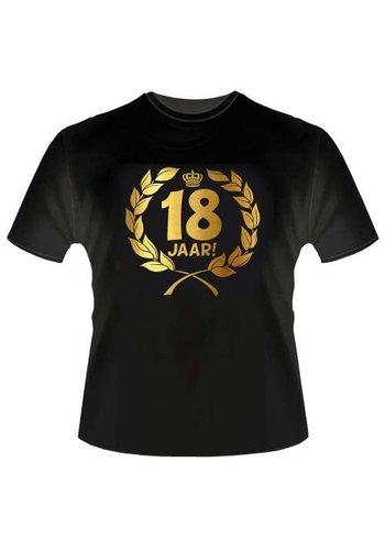 T-shirt - 18 jaar