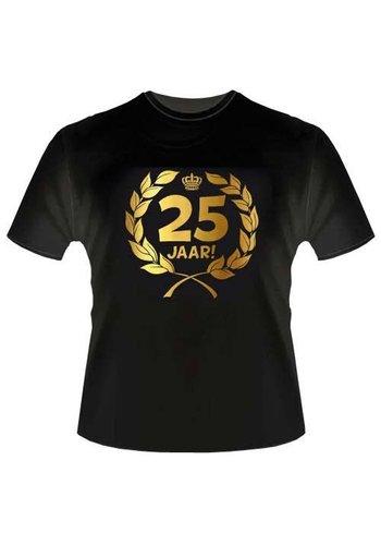 T-shirt - 25 jaar