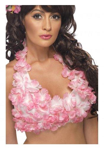 Hawaï Haltertop met bloemen