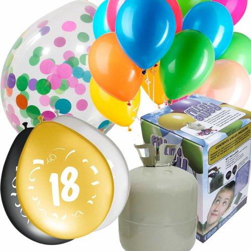 Zakjes Ballonnen & Helium Tanks